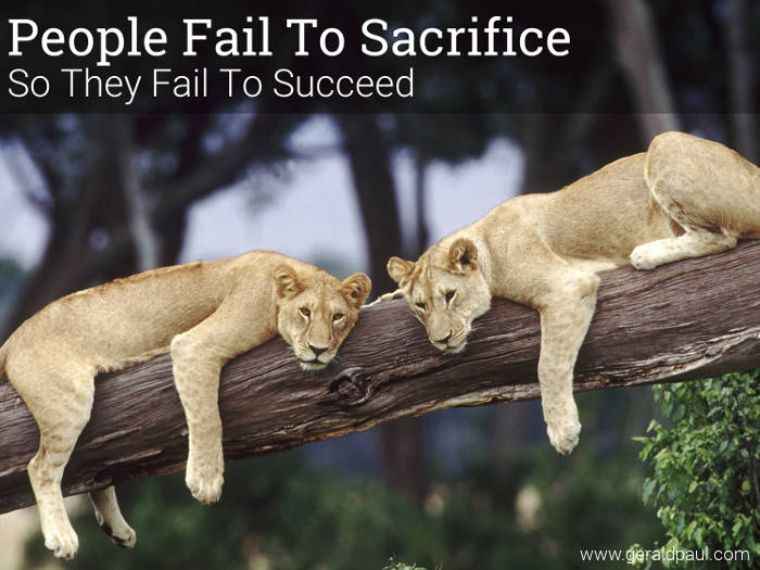 "People Fail To Sacrifice So They Fail To Succeed | Motivational Speaker & Success Coach Gerald Paul (aka ""G"")"