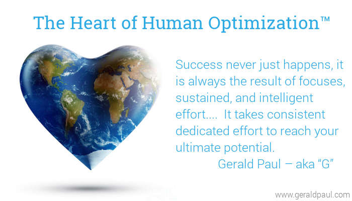 Heart of Human Optimization | Success Requires Effort | Heart Shaped World