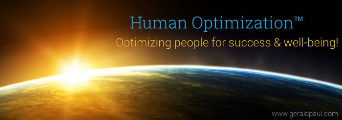Human Optimization: Professional Motivational Speaker & Success Life Coach Gerald Paul