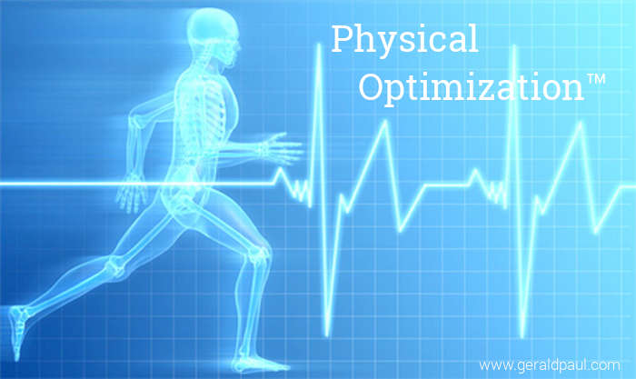 Physical Optimization: Health, Energy, Fitness, Nutrition | Speaker and Coach Gerald Paul