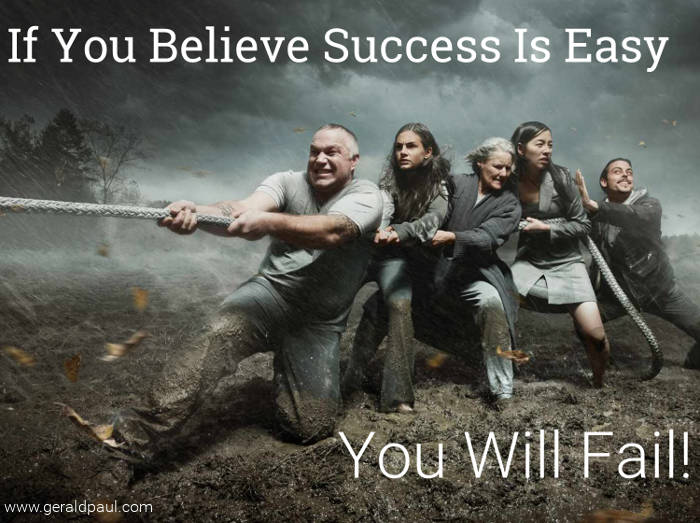 "If You Believe Success Is Easy You Will Fail | Motivational Speaker & Success Coach Gerald Paul (aka ""G"")"