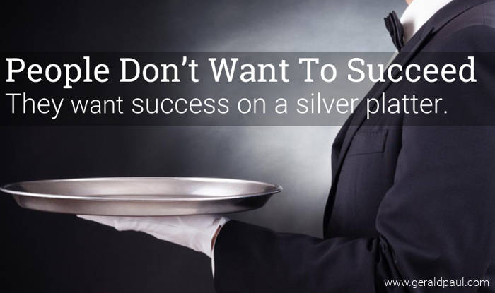 "People Don't Want To Succeed They Want Success On A Silver Platter | Motivational Speaker & Success Coach Gerald Paul (aka ""G"")"