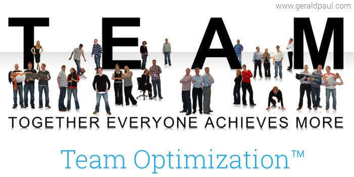 Team Optimization Overview: Together Everyone Achieves More